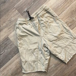 Crazy 8 boys khaki shorts size 8